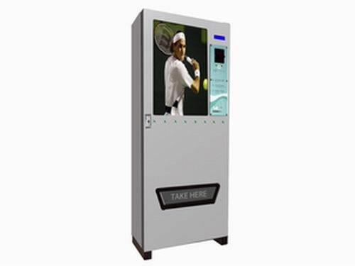 Tennis ball vending machine