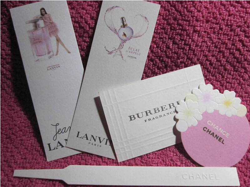 Dongguan perfume test paper