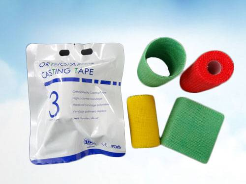 Hot sale Fiberglass & Polyester Orthopedic casting tape