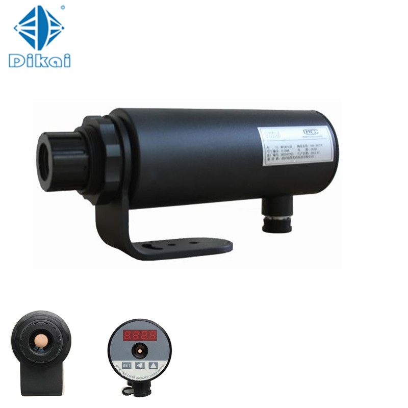 High speed Two-color Infrared Pyrometer with 2 detectors