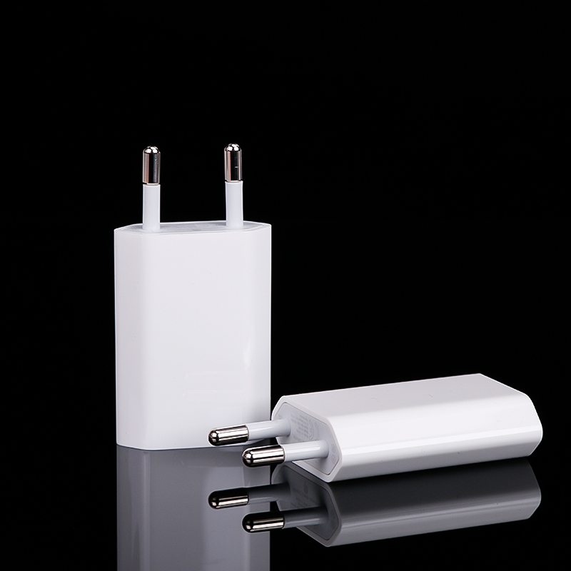 Cell Phone Charger Wall Plug Power Adapter EU Type DC 5V 1 A Micro USB Charger For Mobile Phone