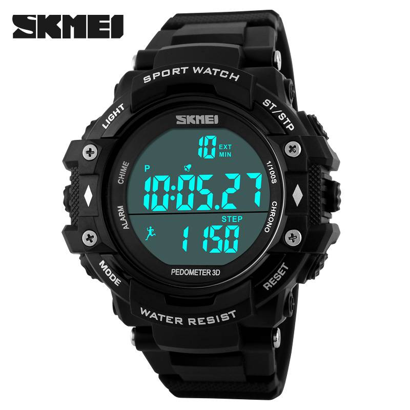 outdoor sports health wristwatch skmei  sports watch pedometers