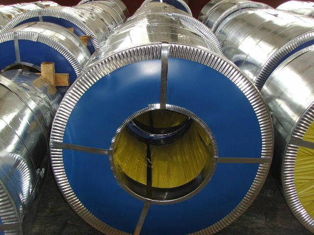 Z60~Z275 hot dip galvanized steel coil
