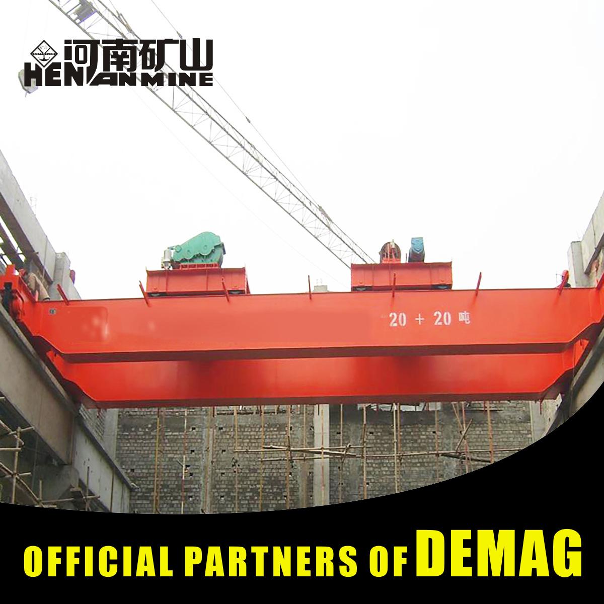 Henan Hercules Beam Launcher Overhead Crane 10 Tons From Henan Hercules
