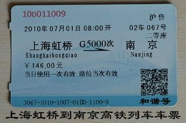 Chinese manufactor professional supplier customized printing train ticket
