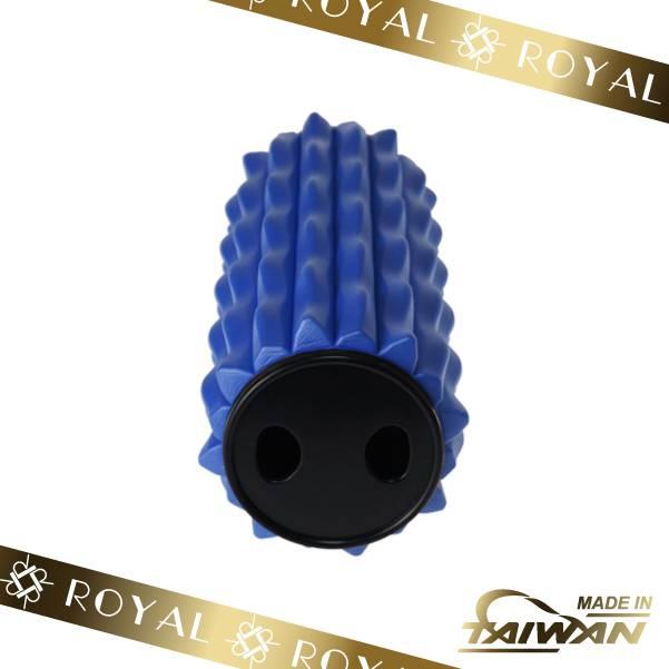 Wavy Blue Massage Foam Roller