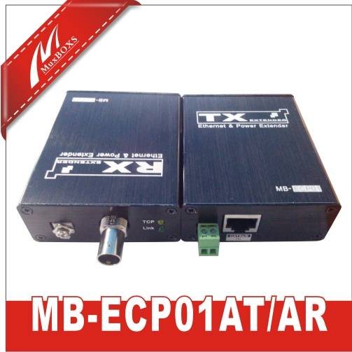 1-CH Ethernet &power Over Coax Extender
