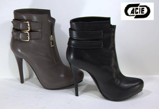 Ankle boots with high heels