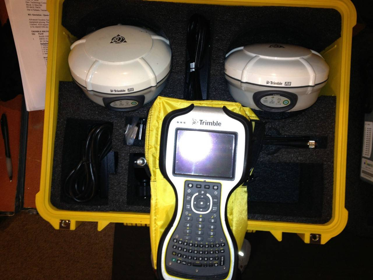 Trimble R8 Model 3 Base and Rover RTK System w/ TSC3