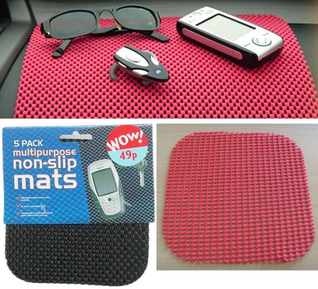 car dashboard non-slip pads