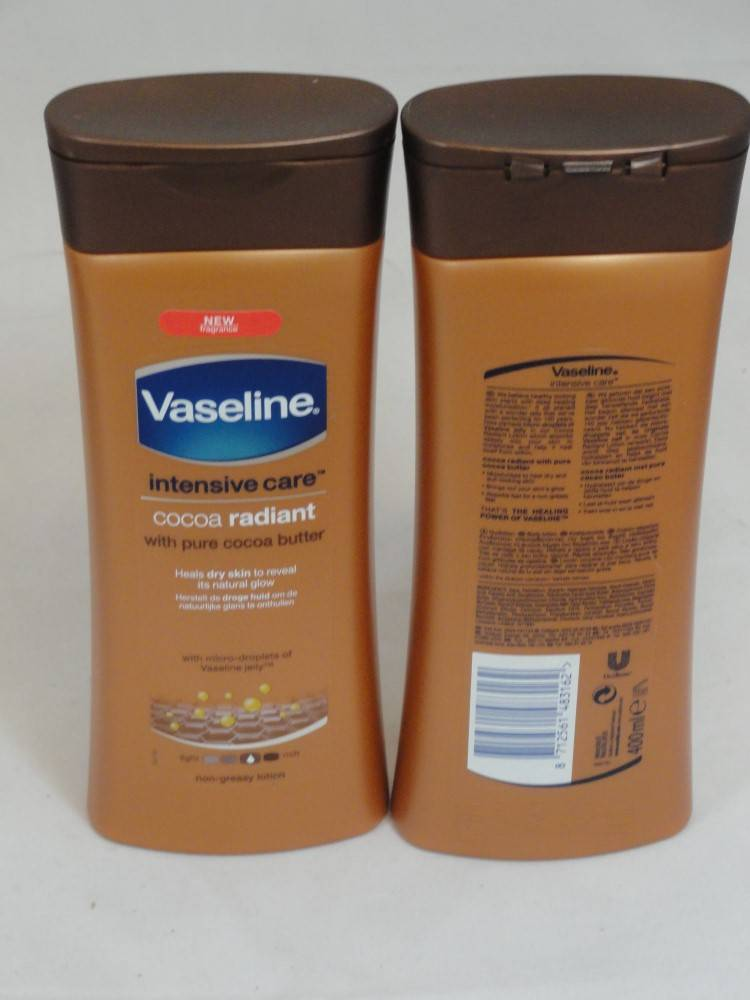 VASELINE LOTION COCOA RADIANT 6X400ML