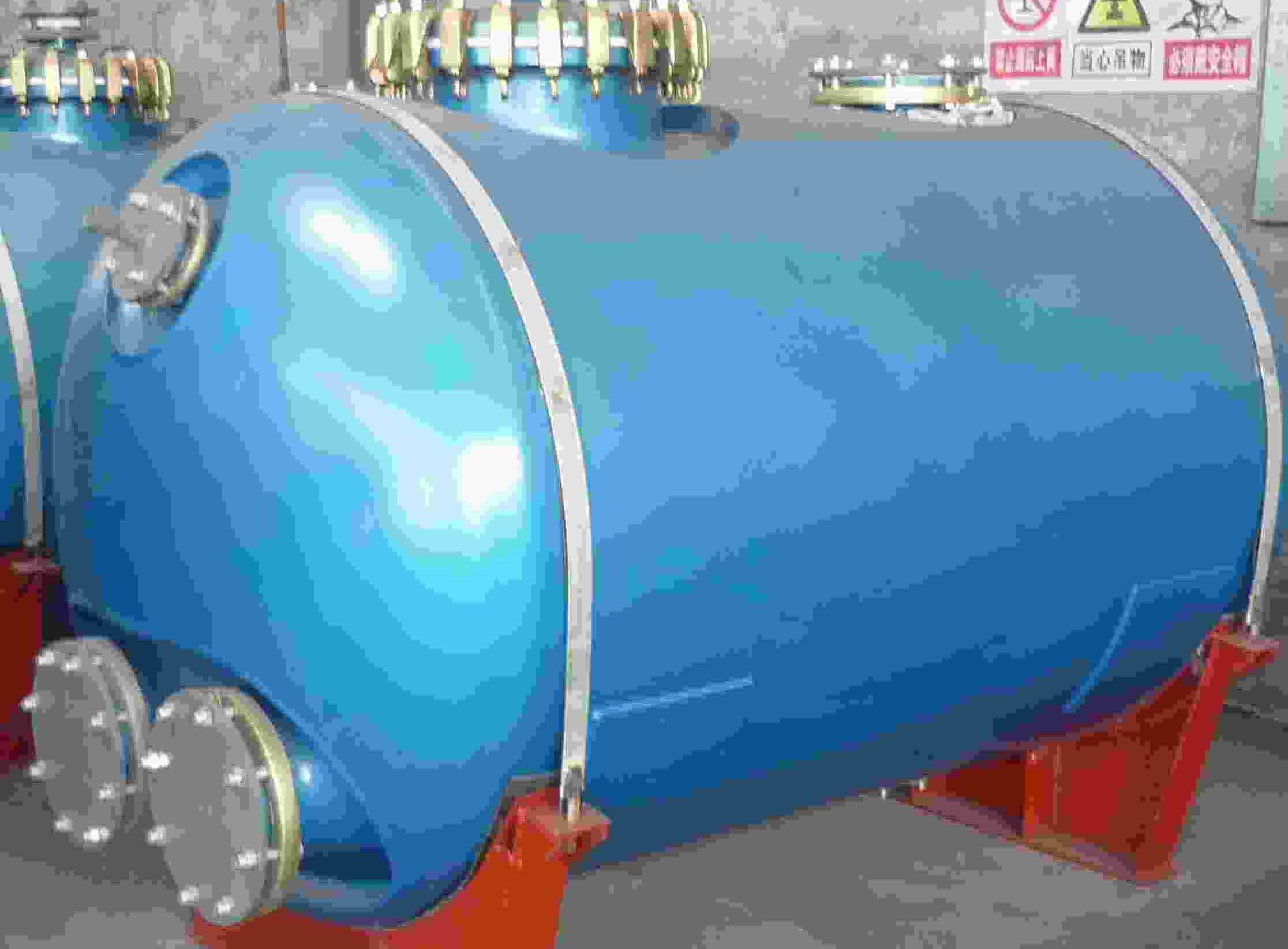 50-80000L glass lined vessel
