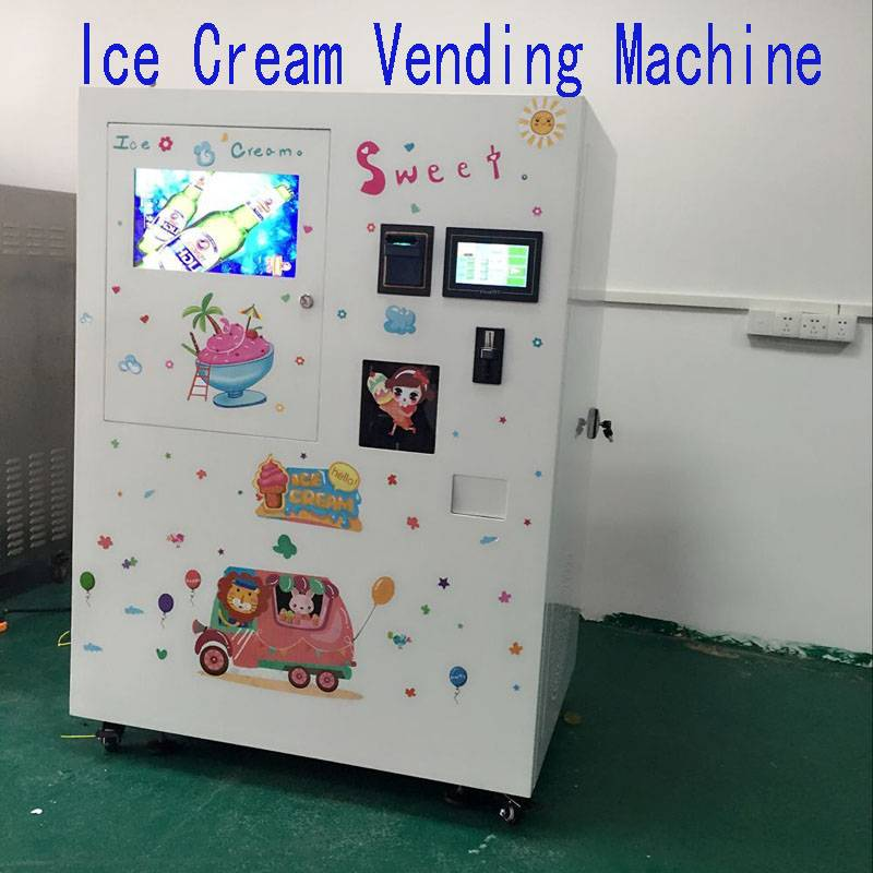 Granville Cup Ice Cream Vending Machine Fresh Supplier From China Promotion