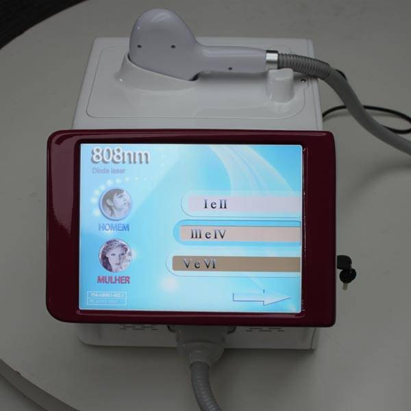 Painless portable 808nm diode laser hair removal machine factory directly sell