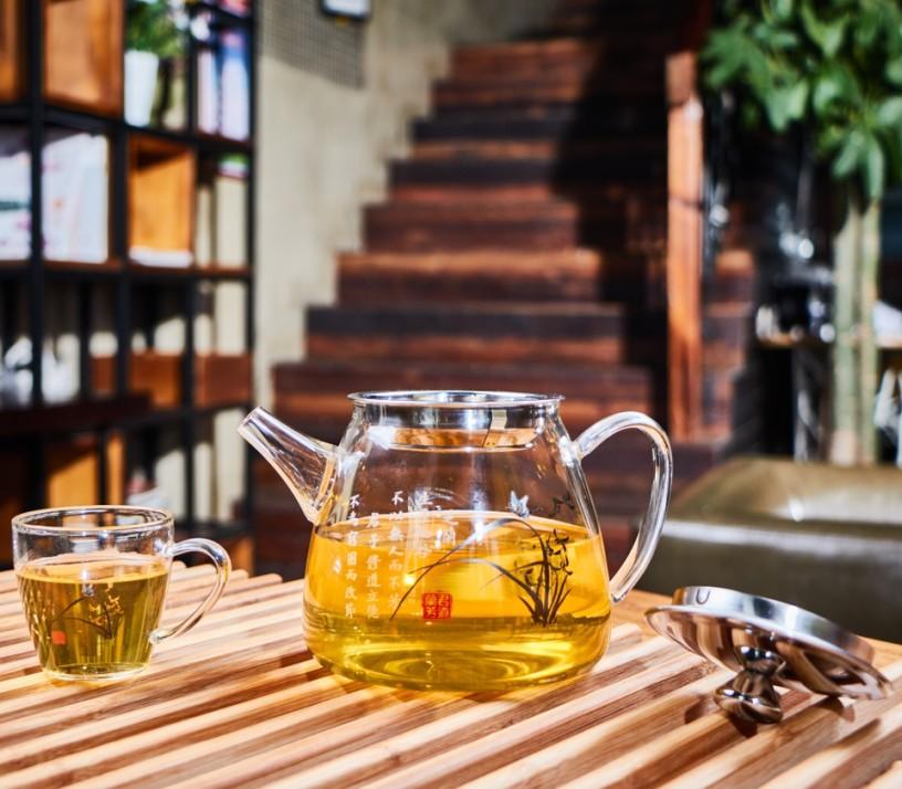 Hand Made Borosilicate Glass Tea Set Glass Teapot Gift