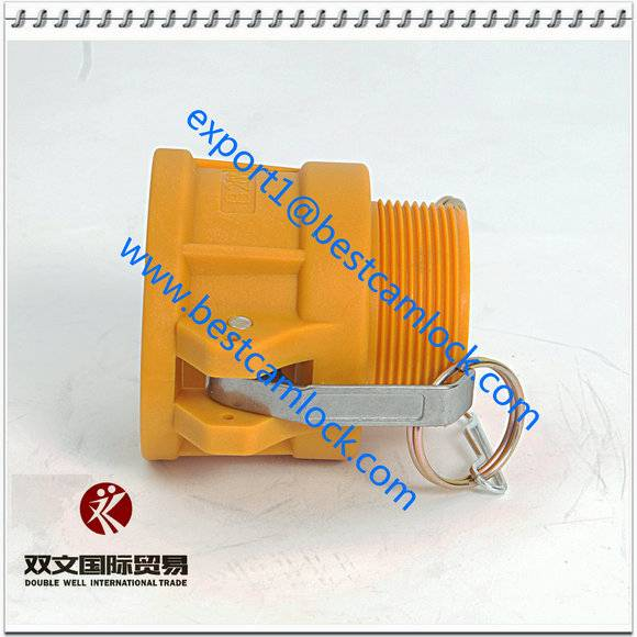 Nylon  cam & groove coupling munufacture type B