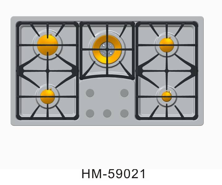 2015 Kitchen appliances 5 burner gas stove price / stoves gas hob