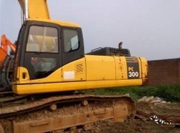 komatsu excavator 30ton excavator PC300-7 excavating machine