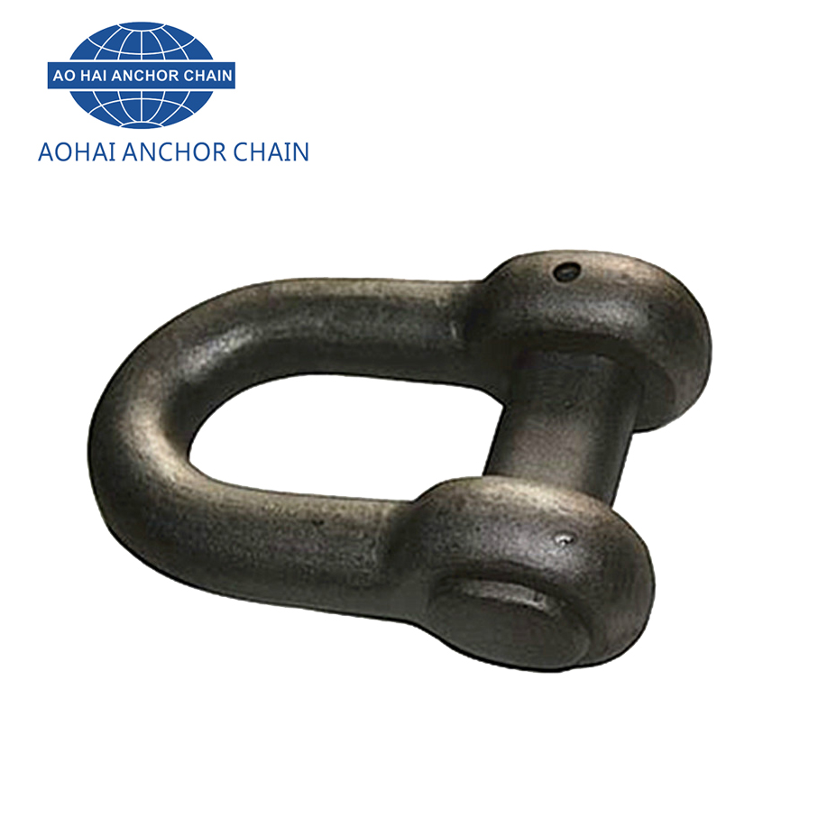 Marine Anchor Chain Connecting Link Type D End Shackle