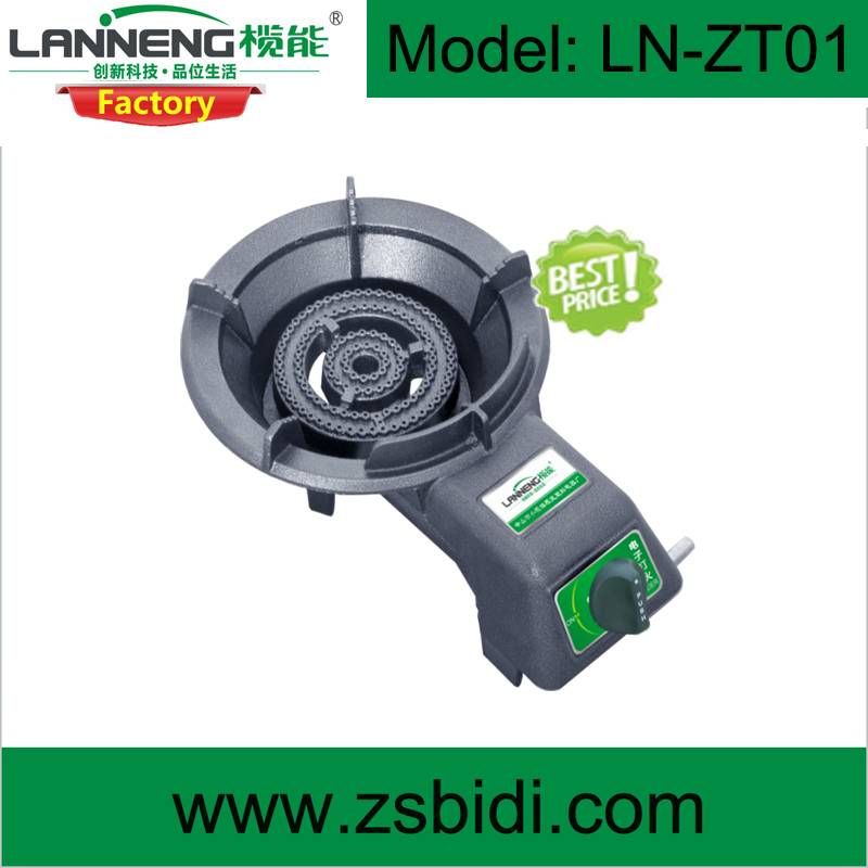 Popular Advanced Design Cast Iron Stove with Wind-proof and Piezoelectric Ignition