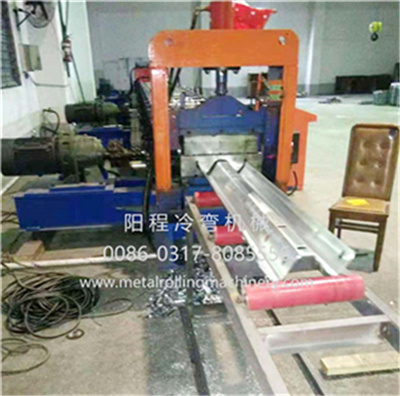 2-Wave Highway Guardrail Roll Forming Machine