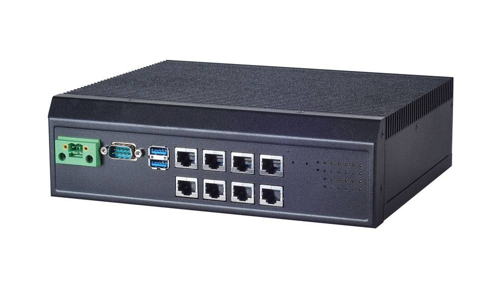 Industrial Box PC with Intel® Haswell CPU for Communication Gateway.