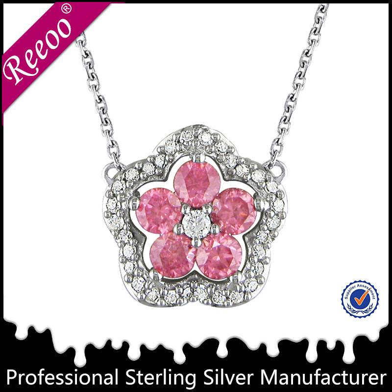 silver 925 flower of life pendant