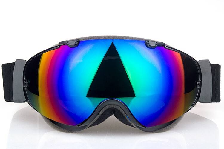 adult ski sunglasses goggles over the glasses