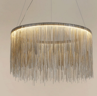 Delightful post-modern industrial design pendant light for villa hotel decoration