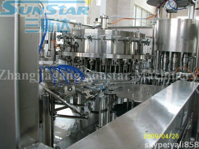 Soda Water Filling Packing Machine (DCGF24-24-8)