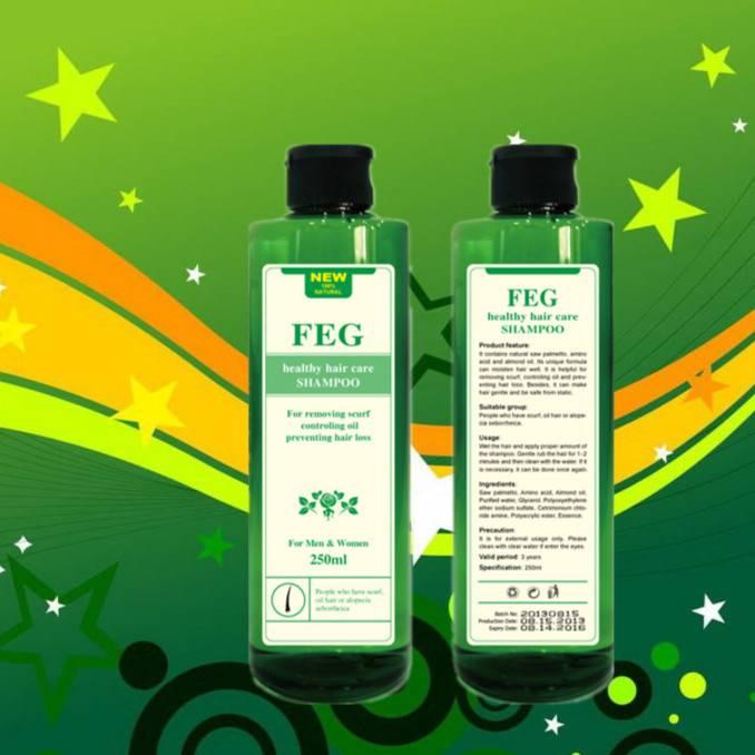 2013 Latest New Product/ Shampoo/ FEG/ Thick Dense Lengthening