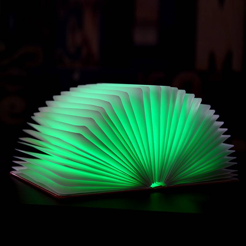 latest invention 2015 products USB Charger Fold Page book shaped LED lamp