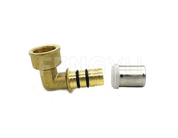 Brass female pex elbow P160X