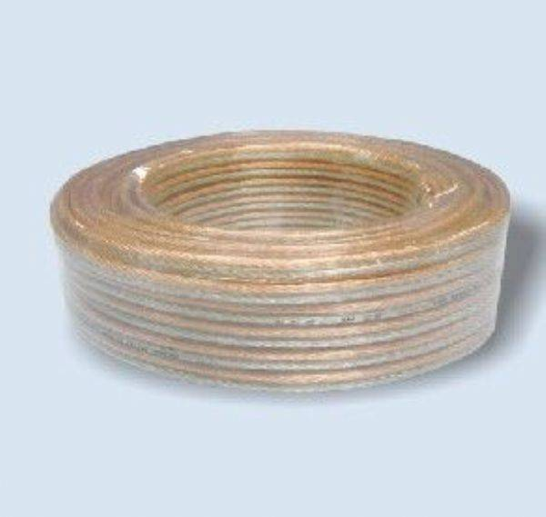 transparent PVC insulated YXB audio speaker wire