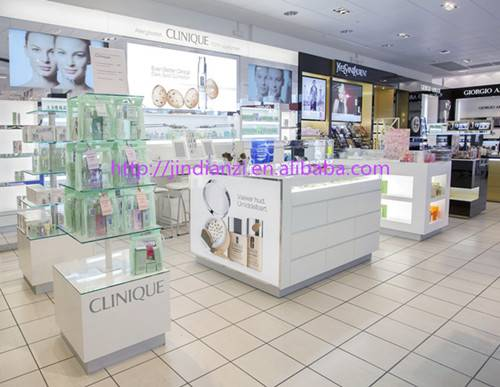 Customized MDF display funiture for cosmetic store