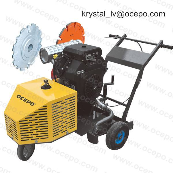 Grooving Machine Pavement Groover