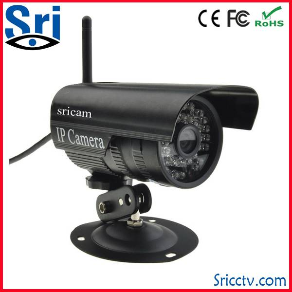 Sricam hot selling  P2P Waterproof outdoor Surveillance IP Camera