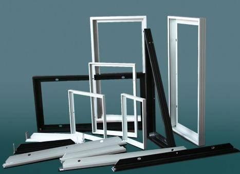 Aluminium extrusion solar panel frame