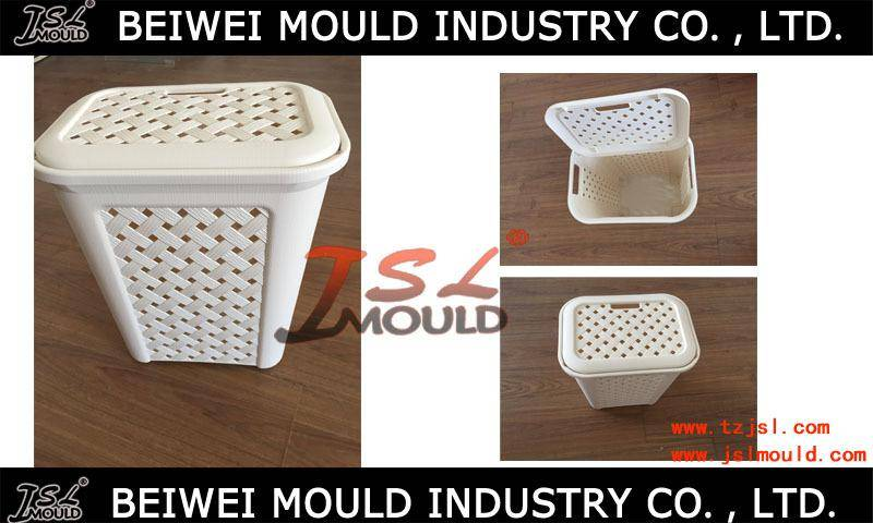 Custom Design Plastic Ash Bin Injection Mould Good Quality Garbage Can Mould