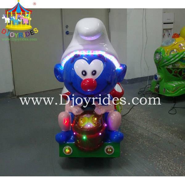 Kiddie rides coin operated machine