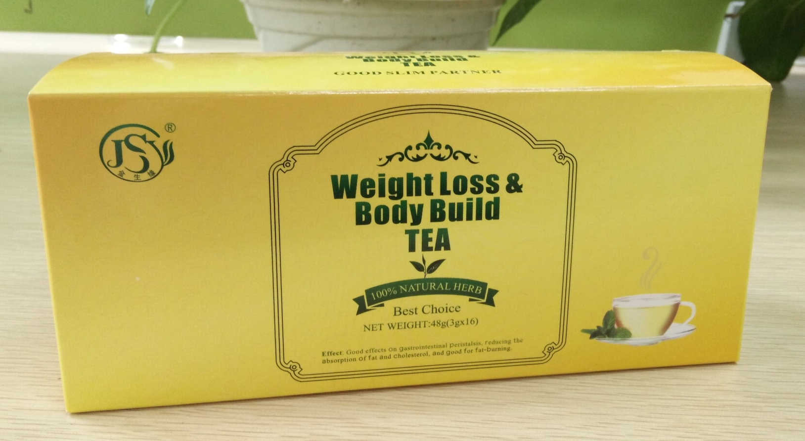Private label organic no side effects herbal weight loss slimming tea