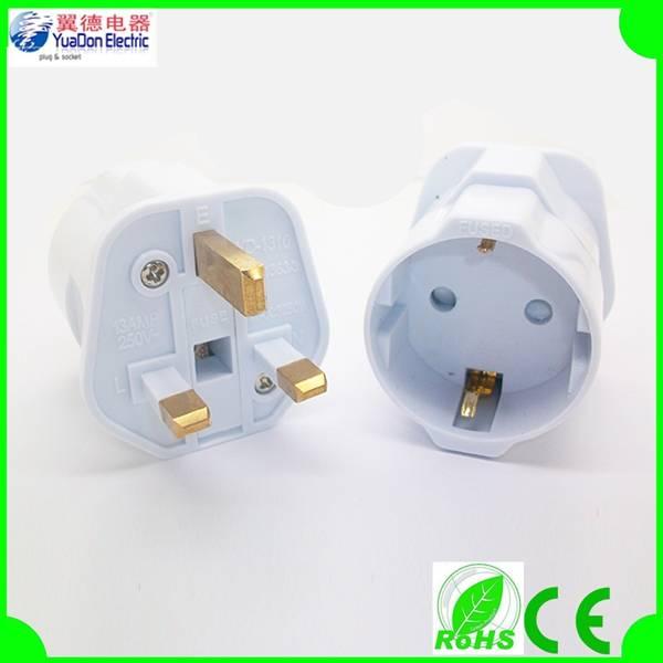 EU to UK adapter plug