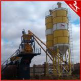 60m3/H Fixed Skip Type Low Cost Concrete Batching Plant