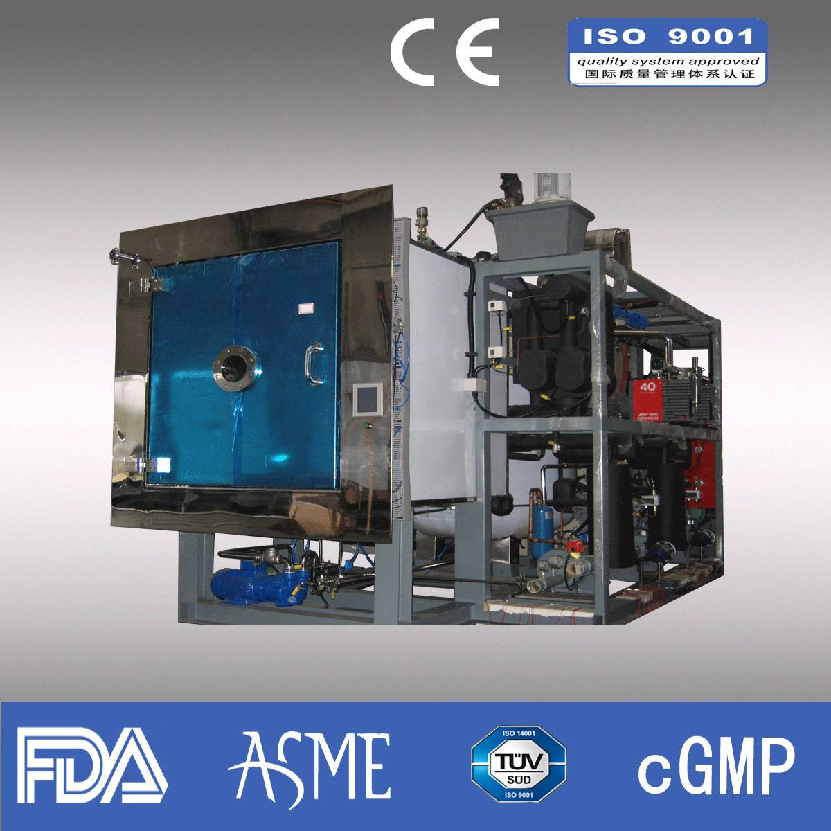 Freeze dryer/ Pharmaceutical freeze dryer/ industrial freeze dryer/Capacity 20kg