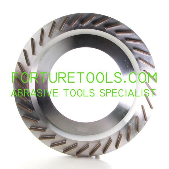 Metal bond Diamond back grinding wheels for LED substrate