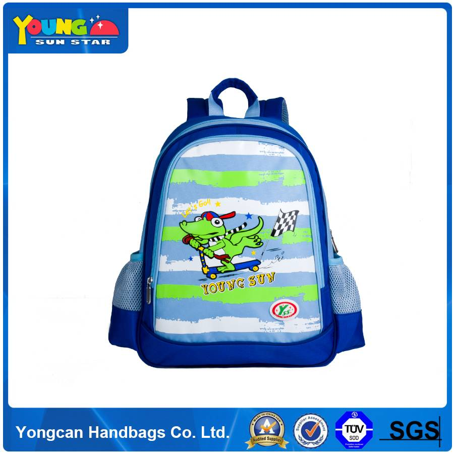 600D polyester large capacity cheap prices kids school bag