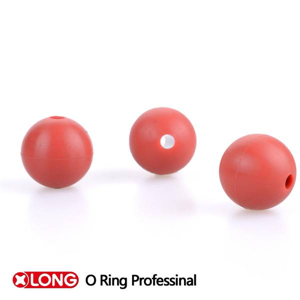 High Quality Mini Seamless NBR Holllow Rubber Ball