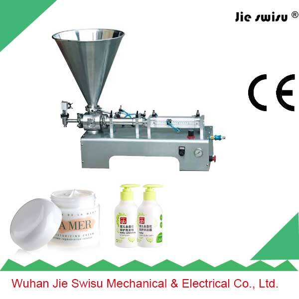 Factory Sale 304 Stainless Steel Pneumatic Cream Filling Machine
