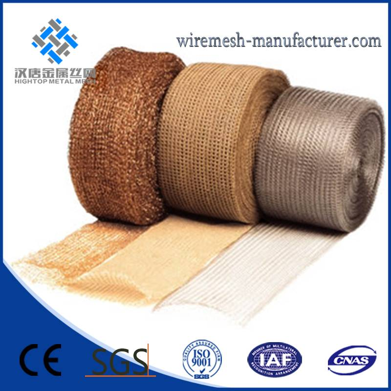 high penetrated Knitted Wire Mesh for filter industry