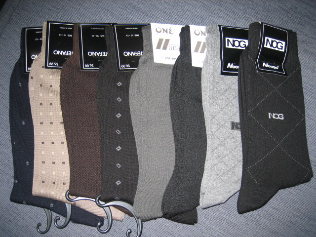 Various kinds of socks